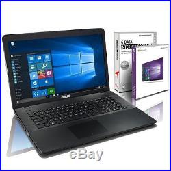 ASUS F751MA (17,3 Zoll)Notebook Intel N2840, black, 1 TB, 8GB RAM, WIN 10 Home