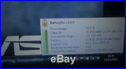 ASUS GAMER ROG G75VW i7 3.3GHz GTX660M 16Go SSD 240Go HDD 750Go FHD3D NICKEL