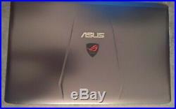 ASUS GL752VW i7 6700 12GB de ram DDR4 2133mz 1TB + 128 SSHD GTX 960M 2go dédié