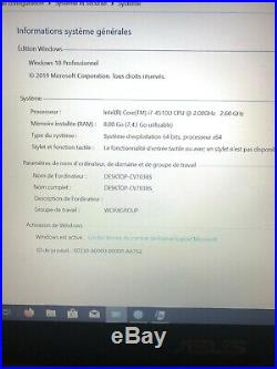 ASUS PRO BU401LG i7-4510U/8Go/128Go SSD + 500Go HDD/GeForce 730M GT
