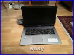 ASUS R702UA-BX632T -17,3/ i7-7500U / 4 Go / 1 To + 128 Go SSD NEUF / GARANTIE