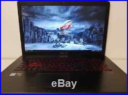 ASUS ROG 17 i7-6700HQ 3,50GHz Turbo 8Go RAM 1To HDD GTX 960M DVD-RW WIN 10