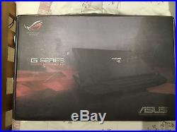 ASUS ROG G750 Series G750JY-T4026H Gaming Laptop GEFORCE GTX 980 i7 17.3 16GB