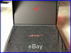 ASUS ROG STRIX GL503G, i7-8750H, GTX 1050Ti, 2.2GHz, 16GO DDR4 RAM, 1TO HDD, 256GO