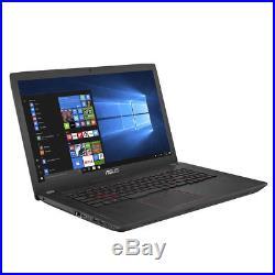 ASUS ROG fx753vd 17.3 ordinateur portable de jeux Intel Core i7-7700hq 8Gb ram