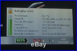 ASUS ROG i5 2.8GHz, 6Go, SSD 60Go+ HD 750Go, 17.3HD+, HD5870, Bat neuve