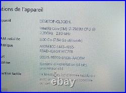 ASUS X756UQ i7 7th Gen SSD M. 2 500go + 500 go en Hdd