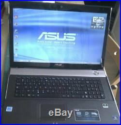 ASUS X77JV i5 17.3 LED HD+, 4Go, SSD + HDD 320Go, Win 10
