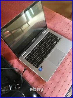 Asus Chrome Book Grey bon état de 4Go sous Chrome Os