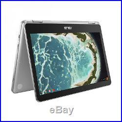 Asus Chromebook Flip C302CA-GU005 argent
