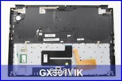 Asus Clavier noir ROG Zephyrus officiel pour PC Portable Asus GX501VIK