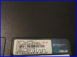 Asus N73v 17,3 intel i7 6gb 1,2To win10