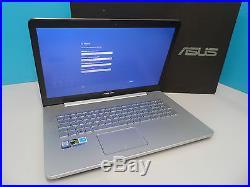 Asus N752VX-GC249T Intel Core i7 12GB 2TB+128GB Windows 10 17.3 Laptop (ML1301)