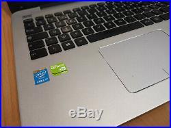 Asus R556L I7 4510U Nvidia 840M 8GB DDR 256GB SSD