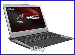 Asus ROG G752VT-GC073T PC portable Gamer 17.3 FHD Argent Intel Core i7, 16 Go
