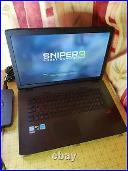 Asus ROG GL742V 17 Intel i5-6700HQ 2.3 Ghz Ram 16Go SSD 256 Go + 1TO HDD
