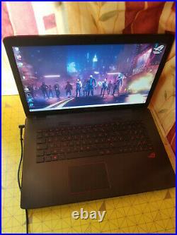 Asus ROG GL752V 17.3 Intel Core i7- 6700HQ 2.6 Ghz Ram 16Go SSD 256 Go