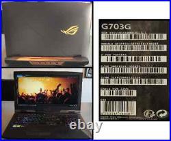 Asus ROG ULTRA PUISSANT PC 17 gamer RTX 2080 2To SSD 32 GO DE RAM parfait état