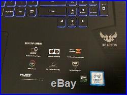 Asus TUF Gaming 765GM-EW032T 17,3 i7-8750h 8 Go -SSD -GTX1060 6gb Gtie02/2021