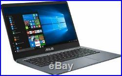 Asus Vivobook E406Ma-Bv106T Pc Portable 14 Hd Gris Foncé Intel Pentium, Ram 4