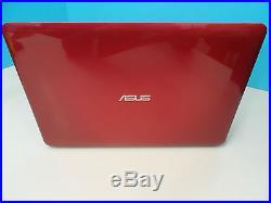 Asus X556UA-DM326T Intel Core i7 8GB 1TB Windows 10 15.6 Red Laptop (98385)