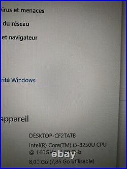 Asus Zenbook UX430U 14 i5 SSD 256 8GO RAM