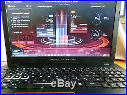 Asus rog g553vd i5-7300 gtx1050 nvme 500go ddr4 8go