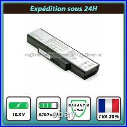 Batterie pour ASUS A32-K72 A32-N71 A72D K72J A73S K73S N71J N73S X72J X73S 5200
