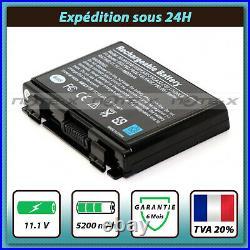Batterie pour Asus K50AF K50C K50I K50ID K50IE K50IJ K50IL K50IN K50IP
