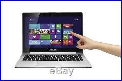 Écran Tactile Asus S400C 14 Pc Portable Intel Core I3 8gb Ram 500gb HDD