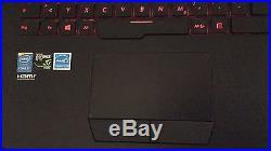 Gaming laptop ASUS G751JT 17,3 Zoll (1 TB + 256 GB, i7 4. Gen, 2,5 GHz, 16 GB)