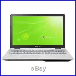 LAPTOP ASUS N751 500GB SSD + 2TB 16GB RAM WINDOWS 7 PRO NVIDIA GTX 950M