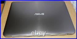 LAPTOP GAMER ASUS N552V CORE i7 15.6 4K SSD 500GB/HDD 1000GB GTX960M WIN 10