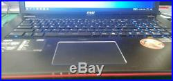 MSi Ge70 17.3 i5 max 3.4GHz 8Go GTX850M(2Go) SSD 120Go, Bluray