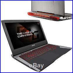 Notebook ASUS ROG G752VY-GC144D i7-6700HQ 64GB GTX 980M 1TB HDD 256GB SSD