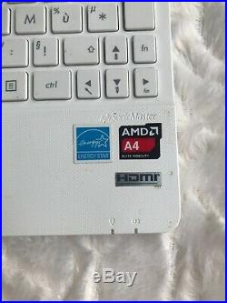 Notebook Asus X102B blanc avec écran tactile