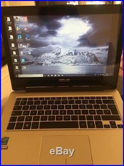 Ordinateur ASUS occasion, écran tactile, couleur noire, HDMI, PAC Office a vie