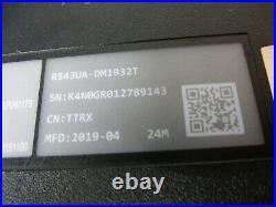 Ordinateur Asus model R543UA-DM1932T (hors service)