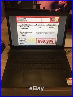 Ordinateur PC portable 17 Asus G741J