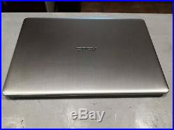 Ordinateur PORTABLE Asus VivoBook Pro i7 8750H 8Go 128Go SSD + 1 TO + GTX 1050