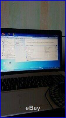 Ordinateur Portable Asus x751l intel core inside i5 4 go windows 7 / 17 pouces