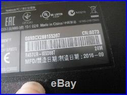 Ordinateur asus R457UR-WX088T (hors service)