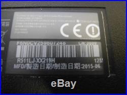 Ordinateur asus R511LJ-XX219H (hors service)