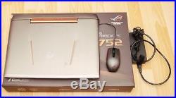Ordinateur gamer ASUS ROG G752VT 17.3 Core i7 6700HQ 16 Go SSD