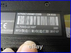 Ordinateur gamer asus GL753VD-GC100T (hors service)