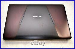 Ordinateur portable ASUS FX553V i5-7300HQ@2,5GHz/1050GTX/12GB/1To+128Go SSD/Win1