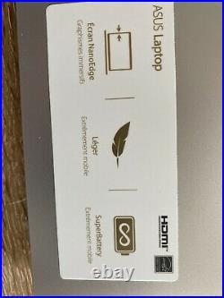 Ordinateur portable ASUS R509BA-EJ098T Silver 15,6 Pouces