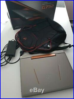 Ordinateur portable ASUS ROG G752VS