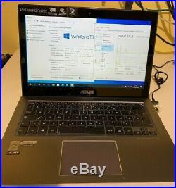 Ordinateur portable ASUS UX302LA 13.3 SSD 480Go 6 Go RAM Windows 10 PRO