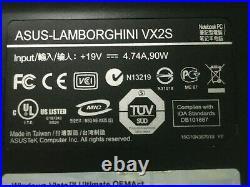 Ordinateur portable ASUS VX2S Lamborghini Collection